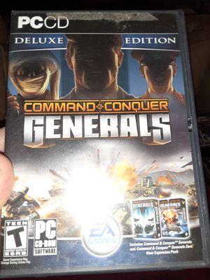 Command & Conquer generals for PC for Sale in Hemet, CA