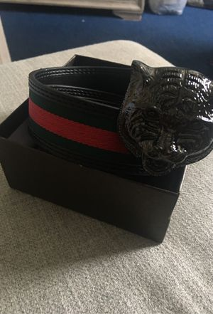Gucci Belt Lion Buckle Size 38/95 for Sale in Sugar Land, TX