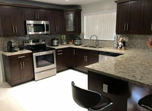 Solid wood kitchen cabinets for Sale in Naples, FL