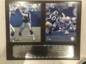 New England Patriots Tom Brady & Corey Dillon for Sale in Miami Gardens, FL
