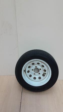 5 Lug Trailer Rim & Tire for Sale in Chicago,  IL