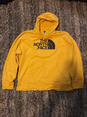 The north face yellow hoodie xl for Sale in University Place, WA