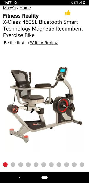 Fitness Reality X-Class 450 SL Excersise Bike for Sale in Las Vegas, NV