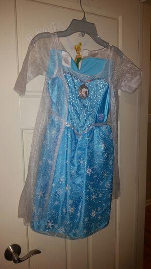 Disney Frozen Elsa dress costume. for Sale in Des Plaines, IL