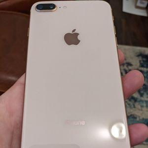 Gold Sim Unlocked Apple iPhone 8 Plus 64gb for Sale in Elk Grove, CA