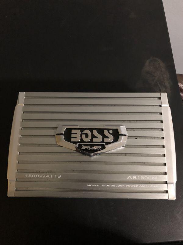 Boss Amp 1500 Watts