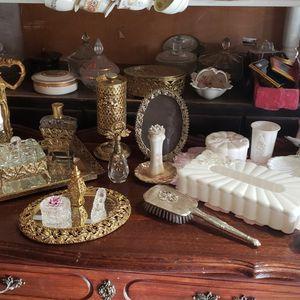 Vintage Vanity Items Prices Vary for Sale in Torrance, CA
