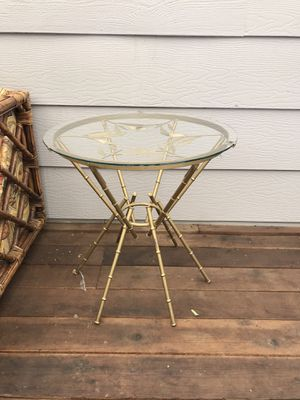 Metal side table for Sale in Chico, CA
