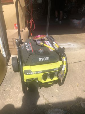 Ryoni generator 3600 used only 3 times for Sale in Ashburn, VA