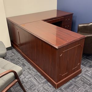Executive Wood Desk for Sale in Worcester, MA