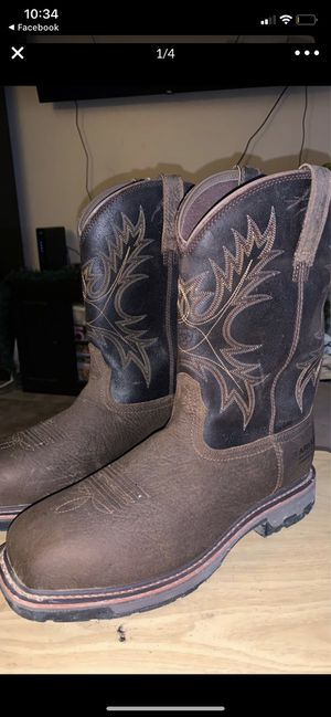 Ariat work boots for Sale in Bakersfield, CA