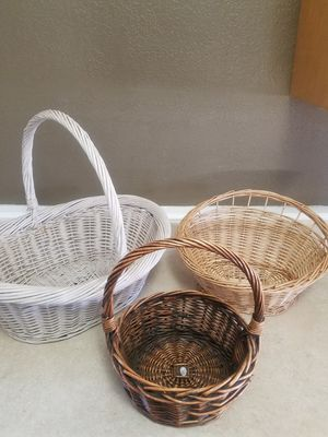 All 3 baskets for $10 for Sale in Santa Maria, CA