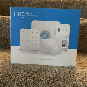 Ring Wireless Security Alarm Kit 8 Pieces for Sale in Lakeville, MN