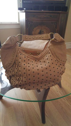 LARGE faux leather bag for Sale in Cleveland, OH