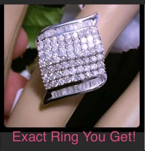 1.50 cttw Genuine Diamond Ring Size 6 for Sale in Cypress, CA