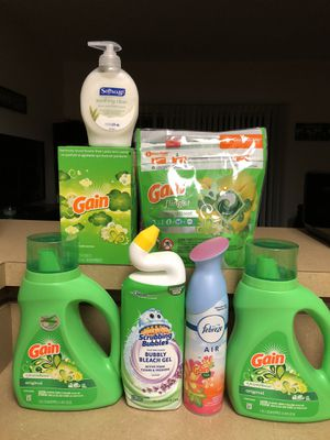 Gain Laundry Bundle - Personal Size for Sale in Pickerington, OH
