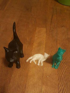 3D CAT SCULPTURE BUNDLE! for Sale in Binghamton, NY