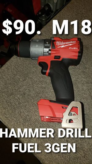 Milwaukee hammer drill fuel 3GEN for Sale in Fontana, CA