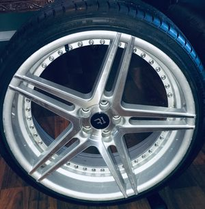 RIMS AND TiRES!!! GREAT CONDITION!!!!!! for Sale in Rock Island, IL