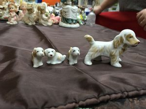 Mom and pups figurines for Sale in Lakeside, AZ