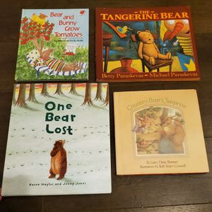 Kids Books- 4 Sweet Bear Hardcover Picture Books for Sale in Vancouver, WA