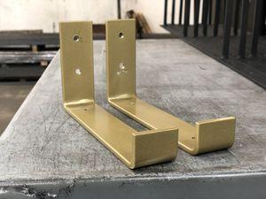 Gold / Brass shelf hook bracket for Sale in Bonney Lake, WA