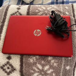 Red HP laptop for Sale in Selma,  CA