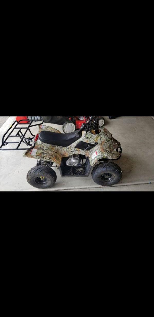 110cc Atv Quad Boulder Sport ATV 4 Wheeler