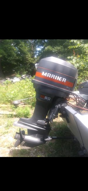 80 hp want to trade for 40 hp jet prop for Sale in Arnold, MO