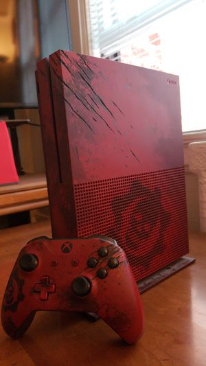 Xbox One Gears of War 4 Limited Edition console for Sale in San Francisco, CA