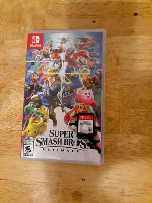 Super Mario Smash bros (Nintendo Switch) for Sale in Tucson, AZ