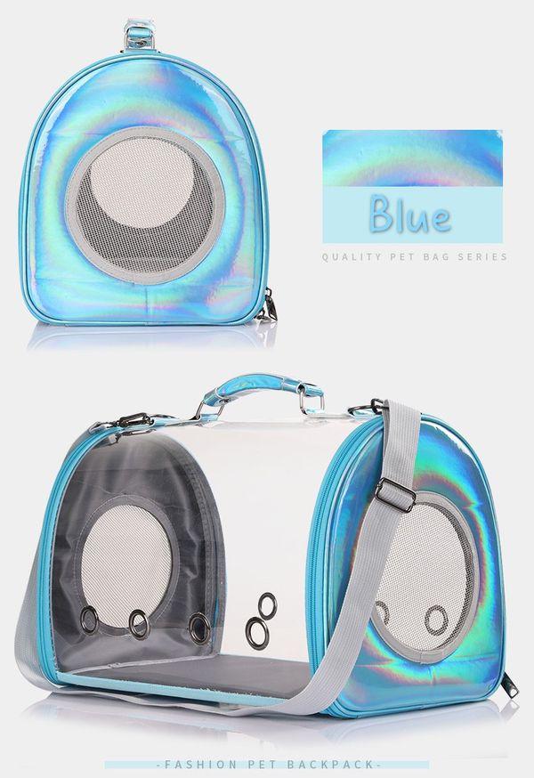 Cute Pet Backpack Handbag Space Capsule