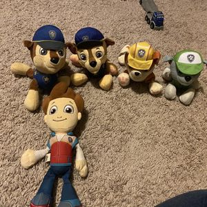 Paw Patrol Stuffed Animals for Sale in Wellford, SC