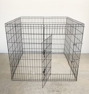 "(NEW) $45 Foldable 42"" Tall x 24"" Wide x 8-Panel Pet Playpen Dog Crate Metal Fence Exercise Cage Play Pen for Sale in South El Monte, CA"