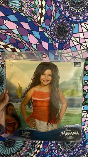 Moana wig for Sale in Des Plaines, IL