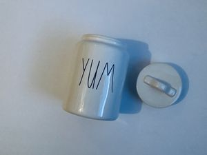 Rae Dunn YUM Canister Container kitchen for Sale in Flint, MI