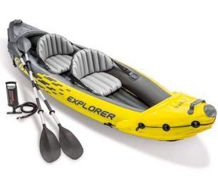 Explorer K2 2 Seater Inflatable Kayak for Sale in Columbus,  NC
