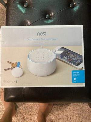 Brand New Nest Secure Alarm System with Nest Came Indoor Camera for Sale in Midland, MI