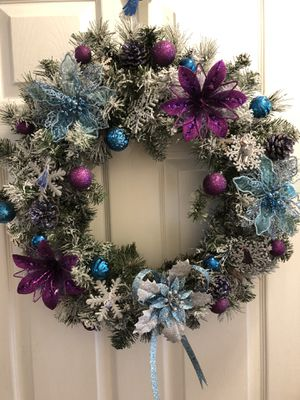 "Christmas Wreath handmade 24"" for Sale in Durham, NC"