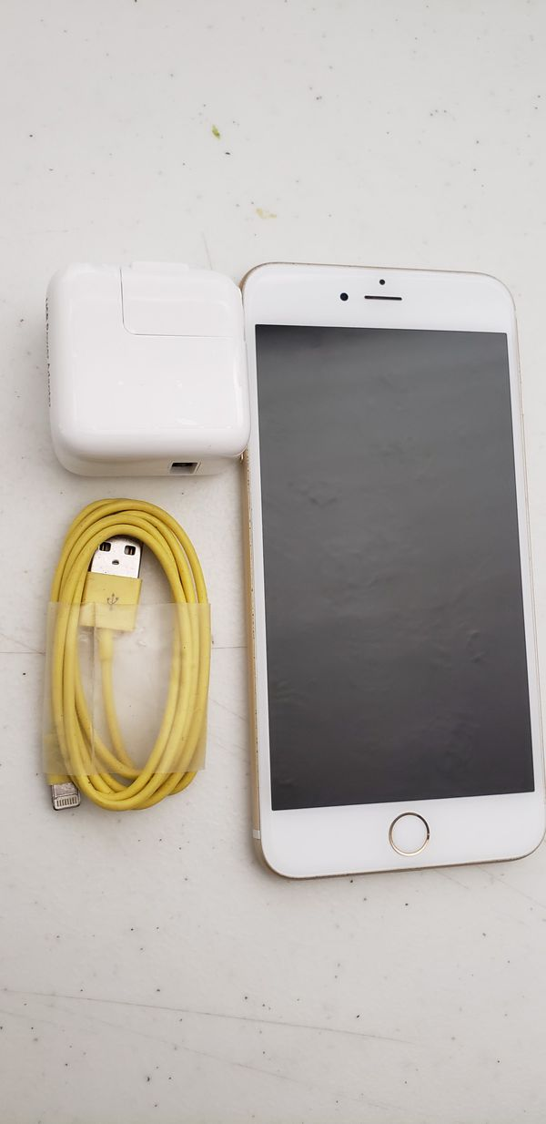APPLE IPHONE 6S PLUS 64 GB UNLOCKED. COLOR GOLD. WORK VERY WELL. INCLUDED CHARGER. PERFECT CONDITION.