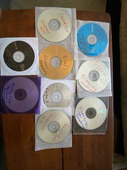 9 CD's Various Artists READ DESCRIPTION for Sale in Matthews,  NC