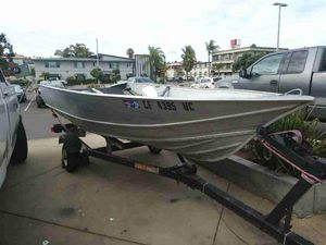 """13' 4"""" Aluminum Boat for Sale in San Diego, CA"""