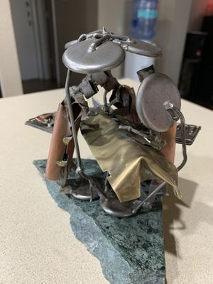 Miniature metal sculpture of three doctors and patient. for Sale in Austin, TX