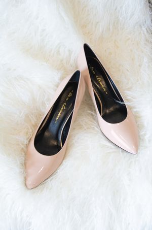Glossy Champagne Pink Pumps for Sale in Coral Gables, FL