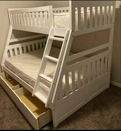 Twin / full bunk bed for Sale in Houston,  TX