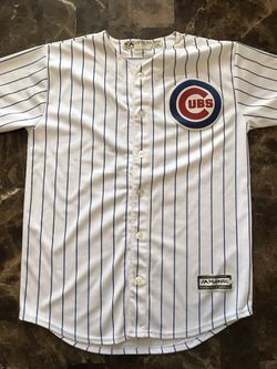 MLB Chicago Cubs Kyle Schwarber #12 Baseball Jersey Youth Size L (14-16) for Sale in Carpentersville,  IL