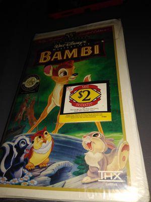 BAMBI VHS for Sale in Pittsburgh, PA