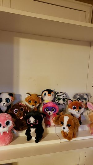 TY Beanie Boos stuffed toys for Sale in Manteca, CA