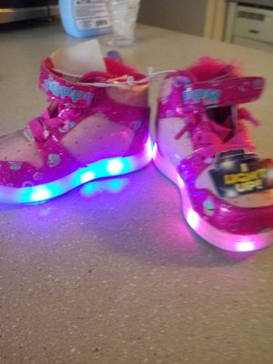 Girls NEW trolls shoes size 5 for Sale in Portland, OR