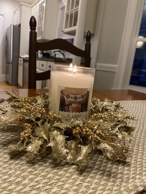 Christmas Candle Wreath / Ring for Sale in Cambridge, MA